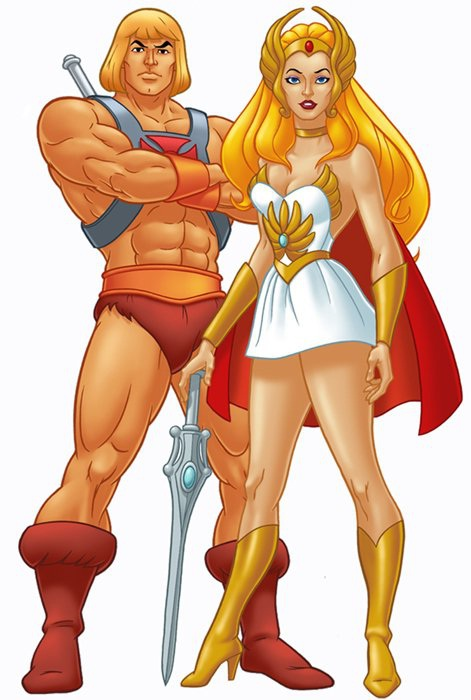 She-Ra-Hottest Female Cartoon Characters Ever