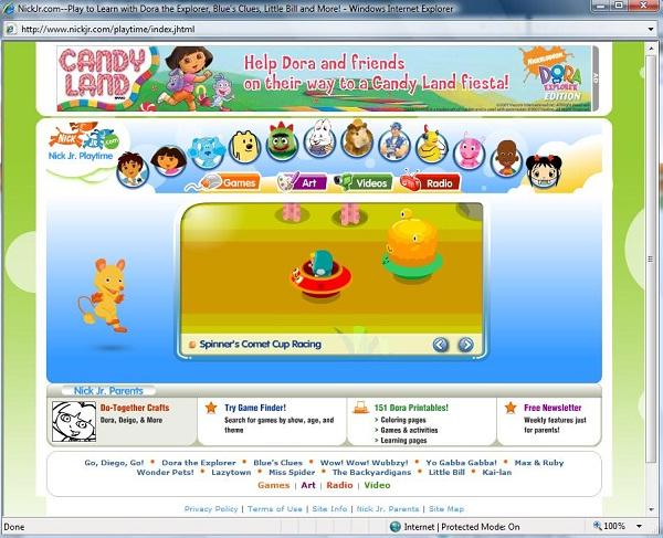 Nickjr.com-Best Educational Websites For Kids