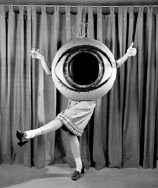 Eye Like This Costume-Most Terrifying Vintage Halloween Costumes Ever