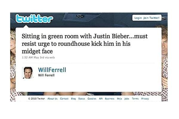 Will Ferrell-Funny Celeb Tweets