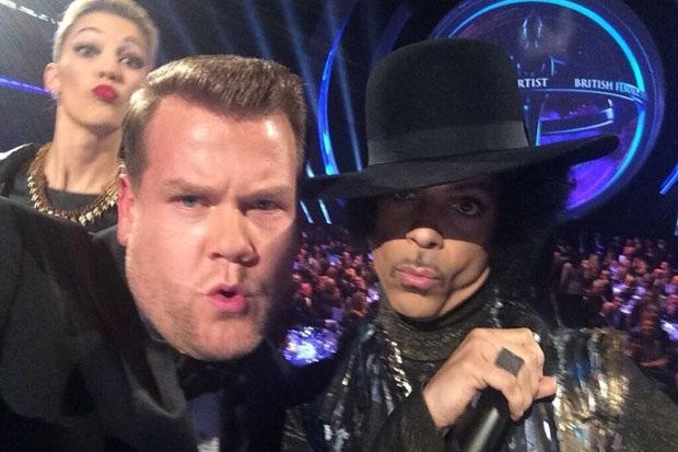 Prince-Rock Star Selfies