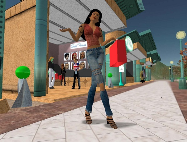 Second Life-Best Text Chat Sites