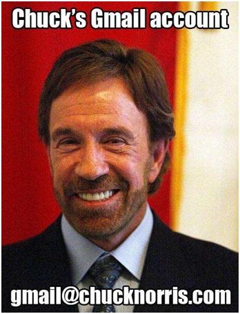 Chuck Norris Owns Gmail-12 Hilarious Chuck Norris Memes Ever