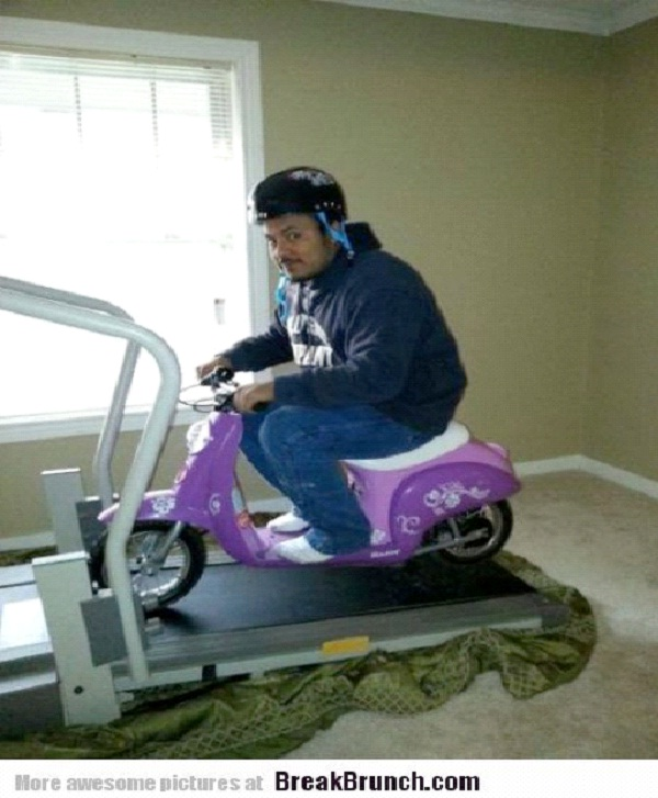 Going For A Ride-Funniest Pics Of Lazy People