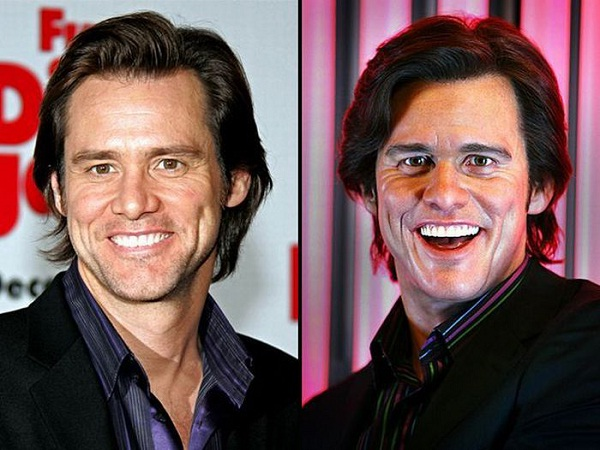 Jim Carrey-Celebs With Their Wax Statues