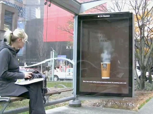 Steamy Hot-Most Creative McDonald's Ads