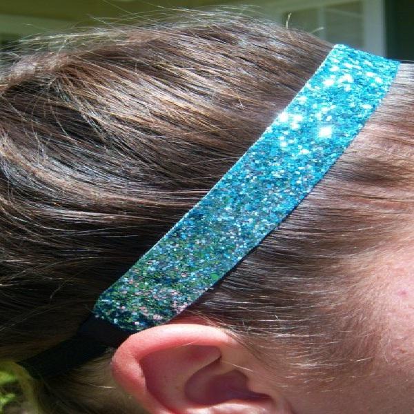 Glittery-Amazing Headbands You Can Make Yourself