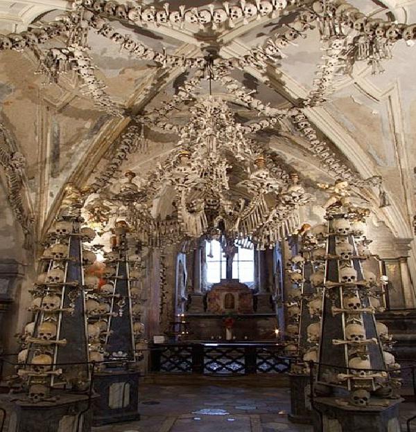 Ornate Ossuary in the Czech Republic-Unique Cemeteries