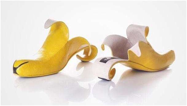 Banana Heels-Crazy Yet Creative High Heel Designs By Kobi Levi