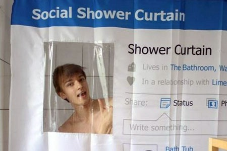 A scary curtain-Amazing Products Inspired By Facebook