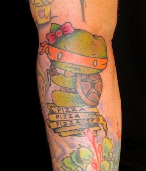 Ninja Kitty-Craziest Hello Kitty Tattoos