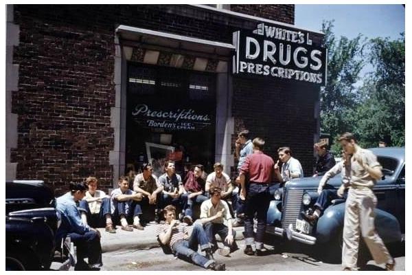 Substances-Teens Now Vs. Teens Earlier