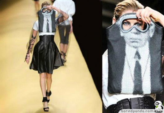 Eyeglasses On The Runway-24 Most Creative Bag Ads
