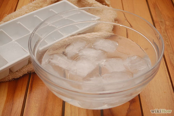 Ice and salt works wonders-Amazing Booze Hacks