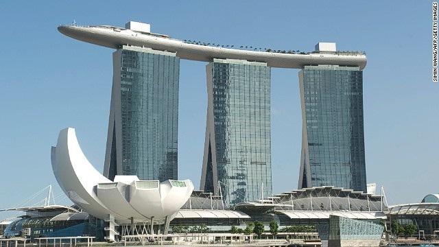 Marina Bay Sands-World's Craziest Buildings