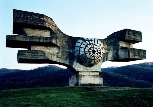 Sci Fi Structure - Yugoslavia-Amazing Abandoned Mega Structures