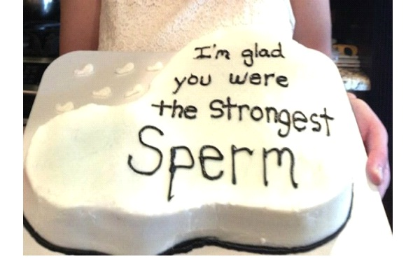 Sperm-12 Hilarious Cake Texts That Will Make You Laugh For Sure