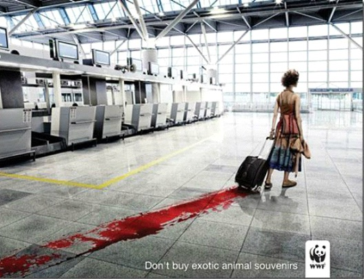 Don't Carry On The Blood Bath-24 Creative WWF Ads