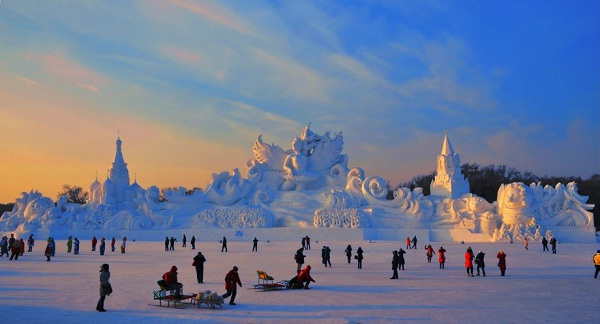 For Kids And Adults Alike-Most Amazing Snow Sculptures
