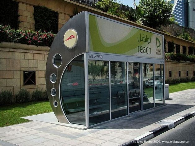Air-conditioned-Cool Bus Stops Around The World