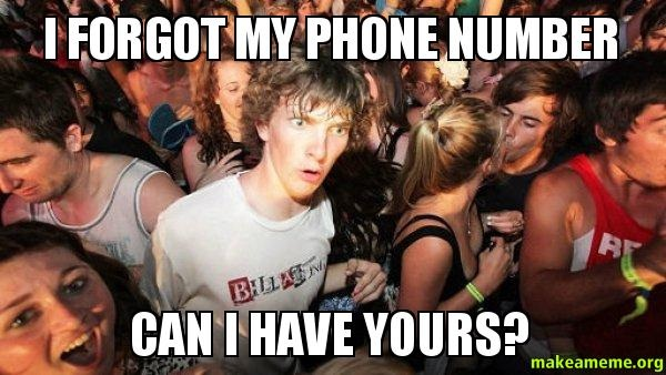 Phone numbers-Most Forgettable Things By Us