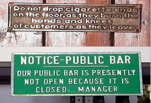 Simple Word Explanations-12 Hilarious Closed Signs That Will Make You Lol