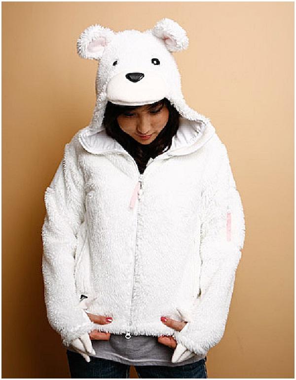 Polar Bear-Cool Hoodies
