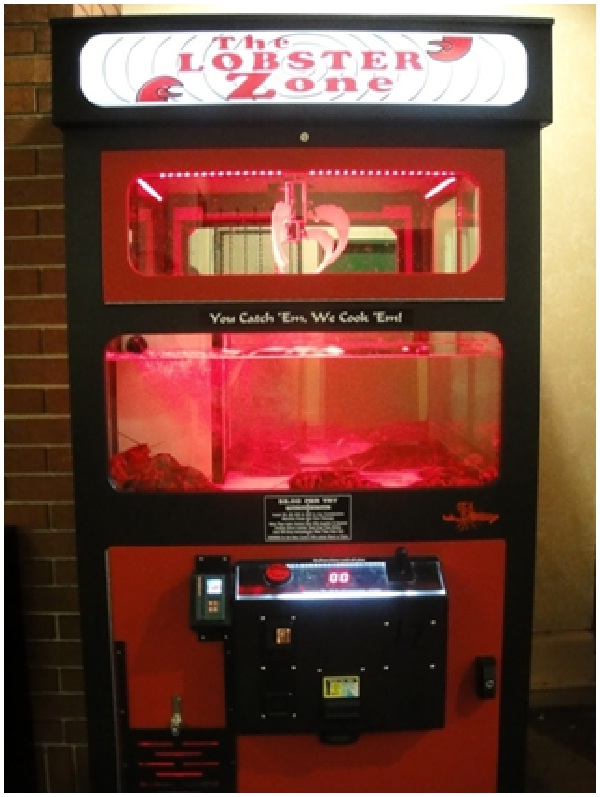 The Lobster Zone-Weird Vending Machines