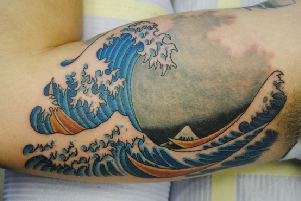 The sea-Amazing Painting Tattoos