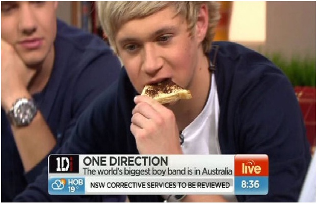 Niall Horan's Vegemite Toast-Bizarre Celebrity Items Put Up For Auction