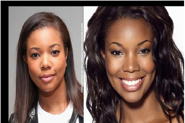 Gabrielle Union-Celebrities Who Don't Wear Makeup