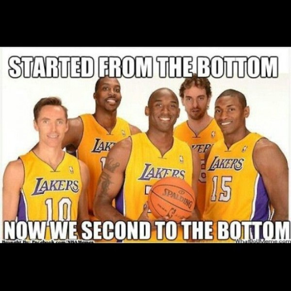 "Yay improvement-Funniest ""Started From The Bottom"" Memes"