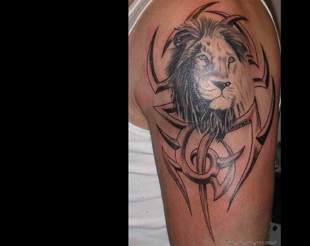 Leo-Best Zodiac Tattoos