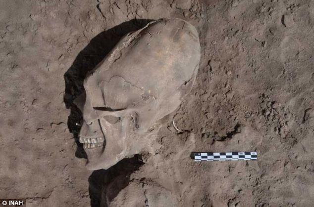 Alien skull?-Strange Artifacts That Are Alien