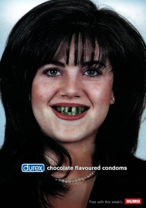 Chocolate Flavored c0ndoms-Most Creative Durex C0ndom Ads