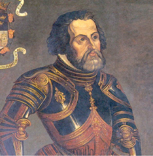 Invaded by Hernando Cortez in 1519 In 1519, Hernando Cortes led the Spanish conquest, overtaking the Aztec Empire.-Amazing Aztec Facts