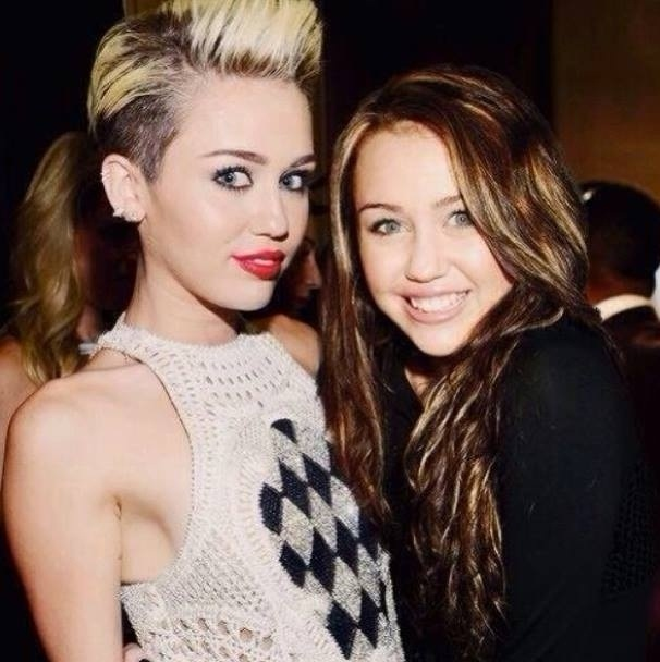 Older Of A Young Person-15 Celebrities Posing With Younger Versions Of Themselves