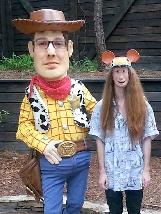 Woody And Me-Face Swapping Done Right