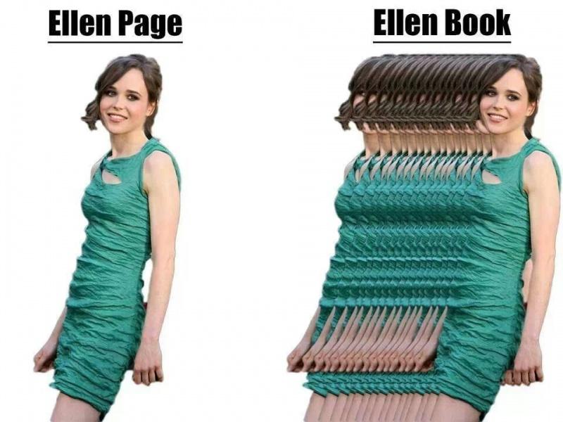 Ellen Page-15 Celebrity Name Puns That Are Hilarious