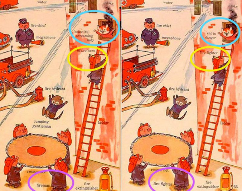 Similar Changes-10 Changes To Children Books That Depict Changes In Our Society