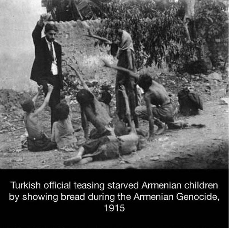 A Picture Taken During the Armenian Genocide-15 Historical Pictures That Are Really Shocking
