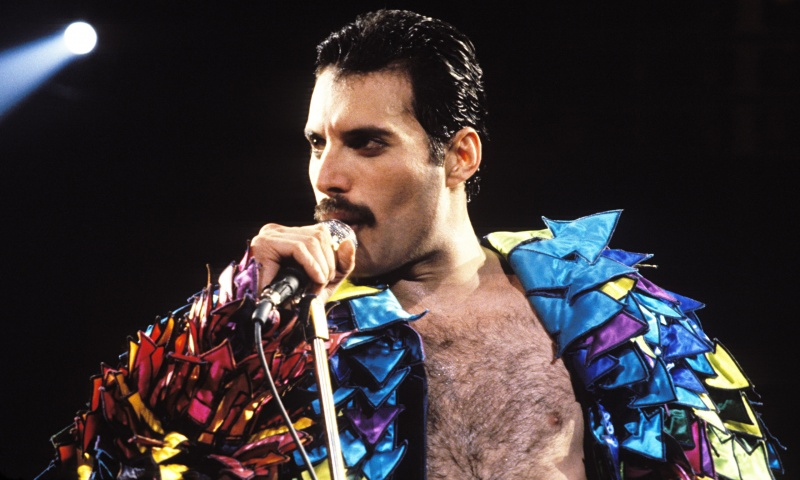 Freddie Mercury-15 Celebrities You Probably Didn't Know Were Bisexual