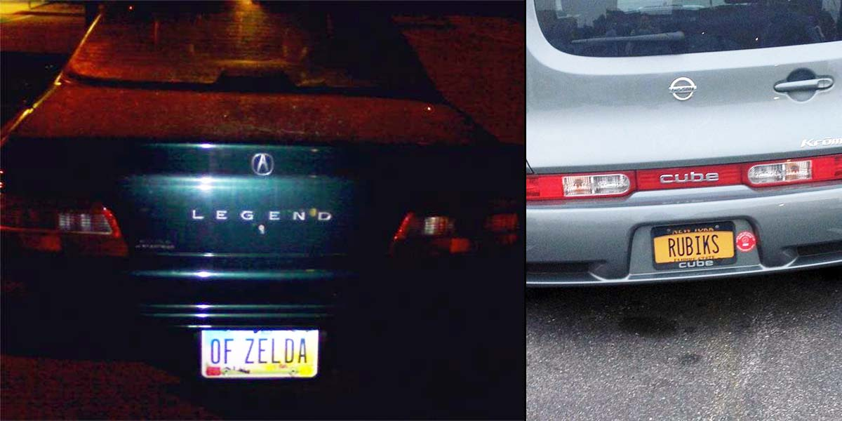 15 License Number Plates With Secret Meaning