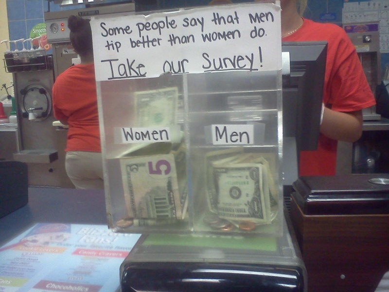 That Was Clever-15 Funniest Tip Jars You'll Ever See