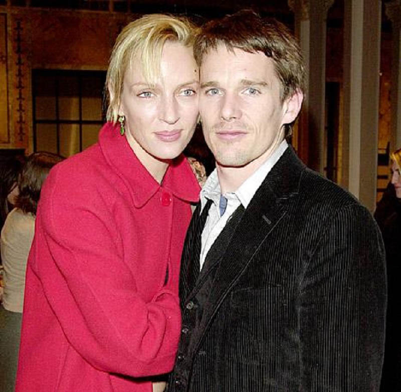 Ethan Hawke cheated on wife Uma Thurman with their Nanny-15 Celebrities Who Cheated On Their Partners