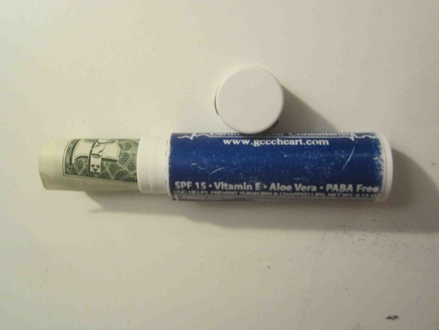 Turn Your Empty Lip Balm into a Mini Cash Holder-Travel Hacks To Simplify Your Trips
