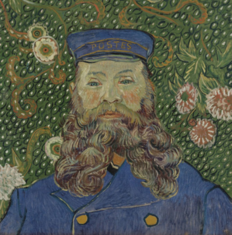 Portrait of Joseph Roulin, 1889 ( Million)-15 Ridiculous Paintings Sold For Millions Of Dollars