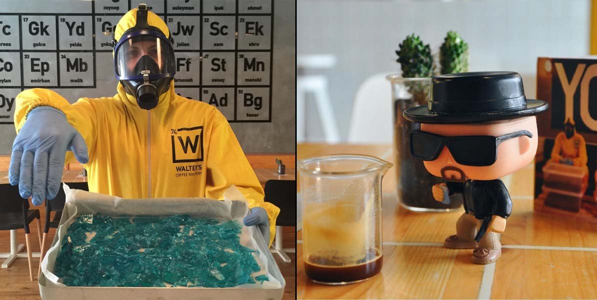 Breaking Bad Coffee Shop is the Best Coffee Shop You Will Ever See