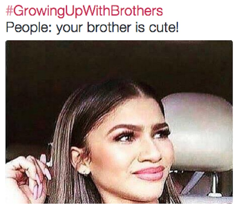 When People Say That Your Sibling is Cute-15 Hilarious Images You Can Relate To If You Have Siblings