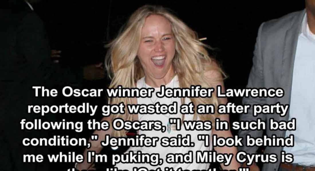 15 Trashy Things Celebs Have Done Drunk
